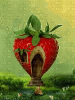 fond strawberry