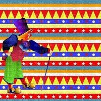 multicolore image encre effet cadre néon cirque pitre rayures bon anniversaire carnaval vert deco edited by me