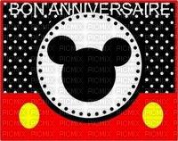 image encre couleur effet à pois  Mickey Disney anniversaire mariage edited by me