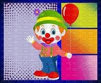 image encre bon anniversaire color effet ballon pitre cirque  edited by me
