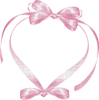 pink heart frame deco cadre coeur