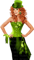 st-patrick day woman femme