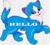 BLUE CAT - HELLO