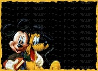 image encre color effet Mickey Disney edited by me