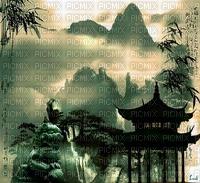 paisaje chino by EstrellaCristal