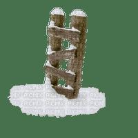 winter ladder hiver échelle