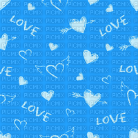 Love, Heart, Hearts, Blue, Deco, Background, Backgrounds - Jitter.Bug.Girl