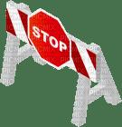 stop road barrikade
