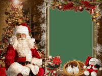Noël.Christmas.Cadre.Frame.Santa Claus.Navidad.Victoriabea