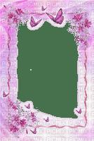 image encre cadre fleurs papillon edited by me