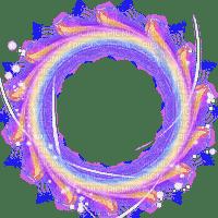 circle frame deco