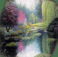 paysage  landscape lake