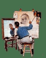 man artist paint painting painter painglounge