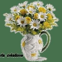 rfa créations - vase marguerites