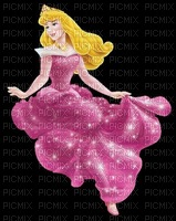 image encre bon anniversaire couleur princesse Aurora Disney edited by me