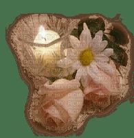 bougie fleur.