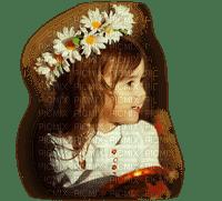 child daisy crown enfant fille marguerite couronne