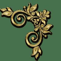 objet décoratif en or