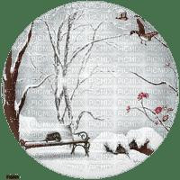 chantalmi  hiver winter neige snow noël déco paysage