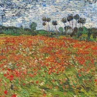 poppy coquelicot fond loly33 painting