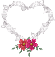 Kaz_Creations Deco Flowers Ribbons Bows Heart Love Colours