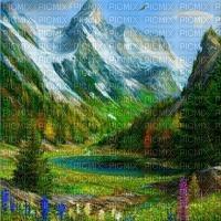loly33 fond paysage montagne