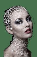 femme visage portrait