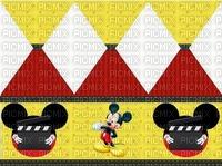 image encre bon anniversaire color effet  Mickey Disney edited by me