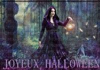 image encre effet couleur joyeux Halloween femme edited by me