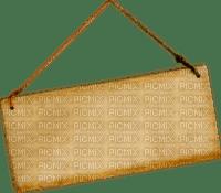 Pancarte bois clair