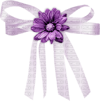 minou-deco-purple-bow-flower-rosett-blomma-lila